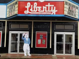 Historic Liberty Theater - Easter Bunny 2018