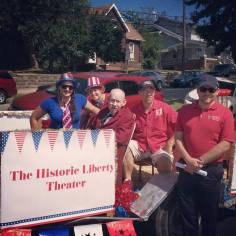 Historic Liberty Theater at the 2015 Apple Festival Grand Parade