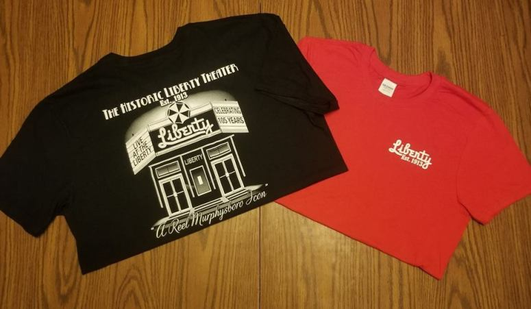 Historic Liberty Theater shirts